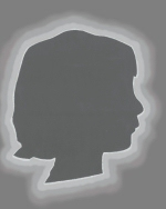 Young Author's Silhouette